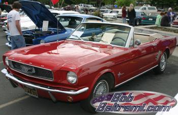 Mustang Convertible at the show